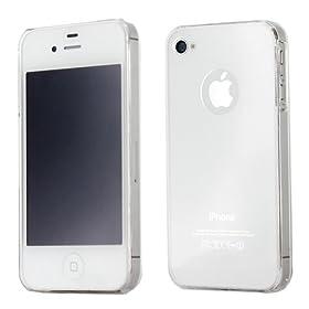 (新品)Solid Dealio Clear Supe IPhone 4 4S超薄超软水晶套 $2.99 第三方免运