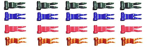 Lego Flags, Wave, Set of 20, Assorted Colors