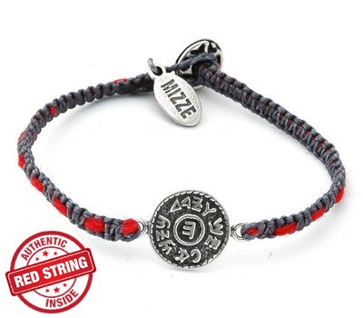 Prosperity Solomon Seal & Authentic Red String Inside Charm Bracelet