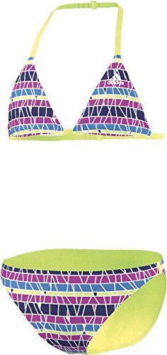 Adidas Striped Bikini Girls, pink/lila/blau/gelb - 164