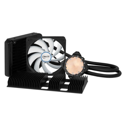 ARCTIC Accelero Hybrid II-120 Water Cooler for Graphics Cards with Backside Cooler for Efficient RAM and VRM Cooling DCACO-V860001-GB Black (Arctic Cooling Accelero Hybrid Ii compare prices)
