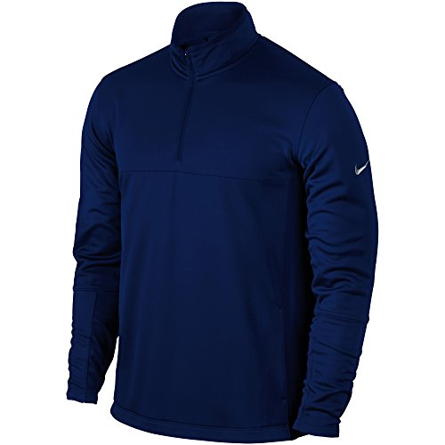 Nike Mens Therma-Fit Cover Up Golf Jacket (2XL) (College Navy/Wolf Grey)