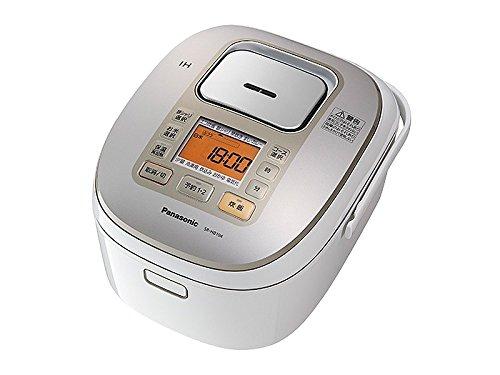 Panasonic IHジャー炊飯器 5.5合 ホワイト SR-HB104-W