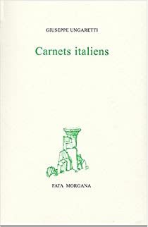 Carnets italiens par Ungaretti