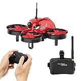 EACHINE E013 Micro FPV RC Drone Quadcopter With 5.8G 1000TVL 40CH Camera VR006 VR-006 3 Inch Goggles