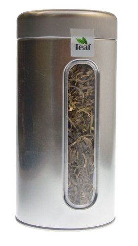 Magic Lychee - Flavoured Black Tea - In A Silver Caddy - Ø 76 Mm, Height 153 Mm (100G)