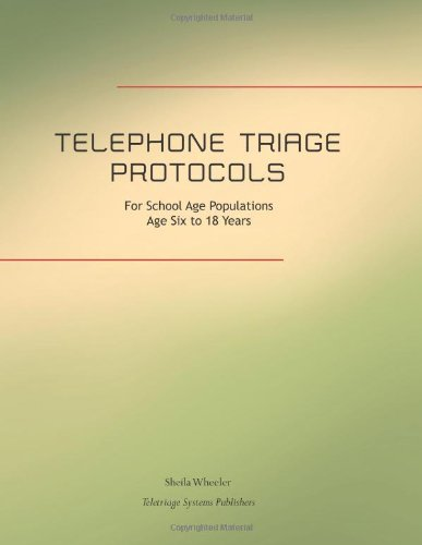 Telephone Triage Protocols For School Age Populations: Age Six To Eighteen Years
