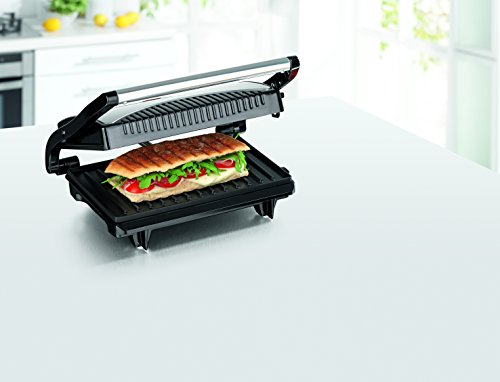 gourmetmaxx 09898 turbo kontaktgrill panini maker kompakt f r fettarmes grillen. Black Bedroom Furniture Sets. Home Design Ideas