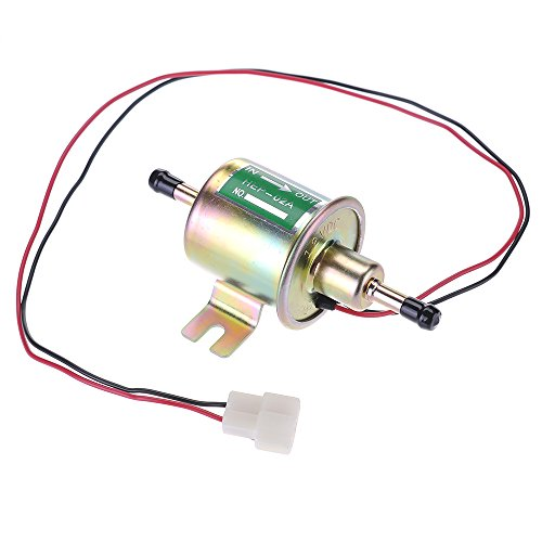 Zhizhu® Electric Fuel Pump 12 Volts Universal Heavy Duty Metal Intank Solid Petrol