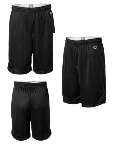 Champion 8731 Adult Long Mesh Basketball Workout Shorts Poly