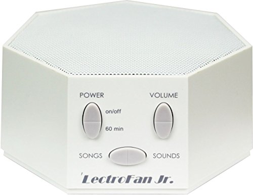 LectroFan Jr. - White Noise Machine with 6 Fan and
