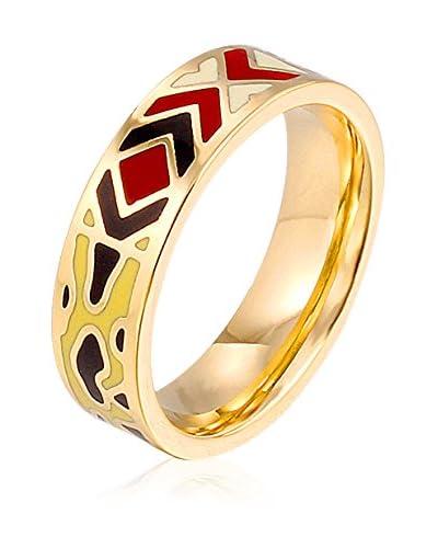 ROSE SALOME JEWELS Ring R017S vergoldeter Stahl 18 Karat