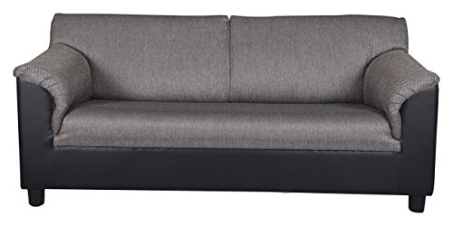 Kurl-on Toledo Plus Three Seater Sofa (Black)