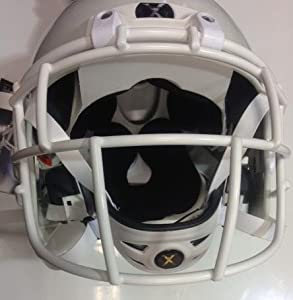 Xenith X2 Youth Football Helmet w Facemask - White Large by Xenith