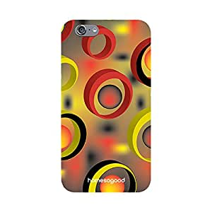 HomeSoGood Colorful Space Bound Multicolor 3D Mobile Case For iPhone 6 (Back Cover)