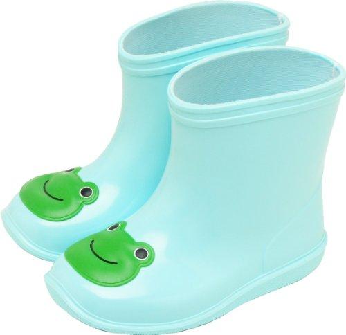 アニマルレイン boots BG-5990 frog's (blue) 13.0 cm