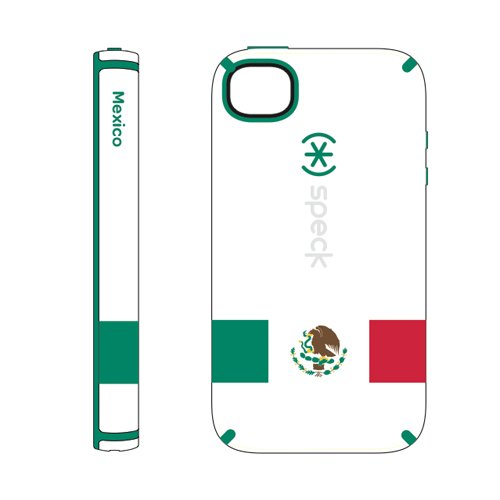 Speck SPK-A1386 CandyShell Limited Edition Mexico Flag Series Case for iPhone 4/4S