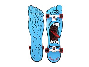 Santa Cruz Screaming Foot Right Cruiser Longboard 32`