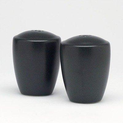 Noritake Colorware Salt and Pepper Shakers, Graphite (Noritake Salt And Pepper Shakers compare prices)