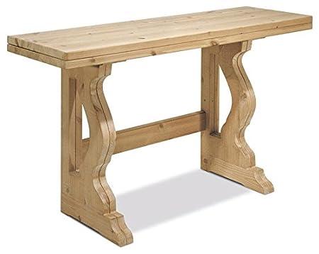 Table console extensible L110 -Brut