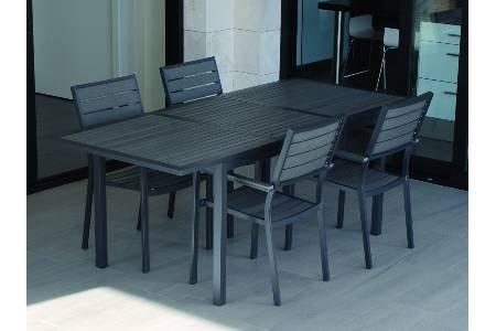 Prosimex company limited M231241 - Mesa rectangular extensible polywood grey