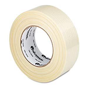 Premium-Grade Filament Tape w/Natural Rubber Adhesive, 2'' x 60yds