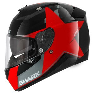 HE4606EKRAM - Shark Speed-R Texas Motorcycle Helmet M Red (KRA)