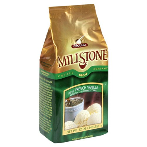 Millstone French Vanilla Decaf Ground Coffee, 12-Ounce Packages (Pack Of 2)
