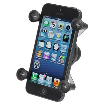 Ram Mount Cradle Holder for Universal X-Grip Cellphone/iPhone with 1-Inch Ball - Non-Retail Packaging - Black (Iphone 4 Cases Ebay compare prices)
