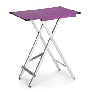 Master Equipment Aluminum Moda Competition Pet Grooming Table, Purple