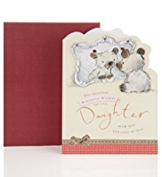 Bear & Bird Daughter Birthday Card