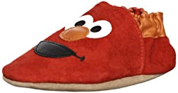 Robeez Soft Soles 3D Elmo Slip On (Infant/Toddler),Red,12-18 Months (4.5-6 M US Toddler)