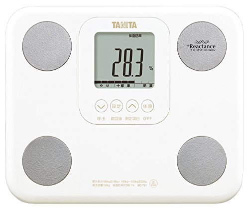 """ [Function Capitalists Shed And The People Who Rode Snugly Tanita ""Ride (Automatic Recognition)""] With Bc-751-Wh White Body Composition Monitor"