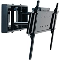 Peerless Pull-Out Swivel Mount for 32-Inch - 65-Inch Flat Panel Screens (Gloss Black) Non-security