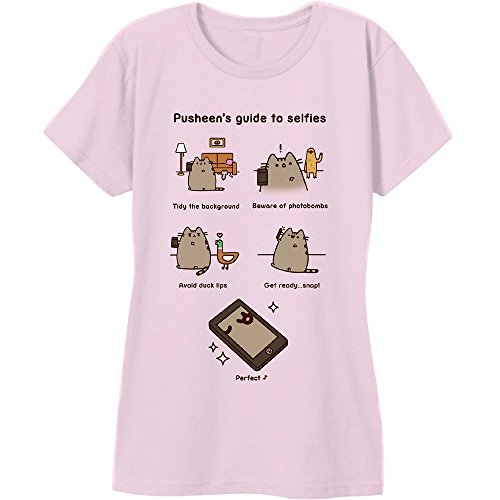 Pusheen The Cat Guide To Selfies T-Shirt
