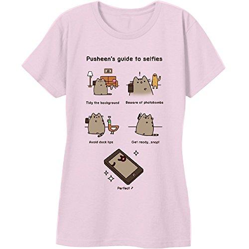 Pusheen The Cat Guide To Selfies T-Shirt