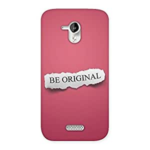 Special Be Orignal Multicolor Back Case Cover for Micromax Canvas HD A116