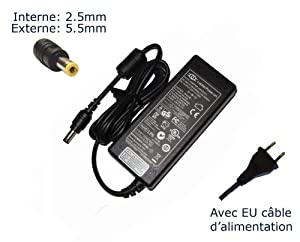 """Laptop Notebook Charger forSony Vaio VGN-FE28GP VGN-FE30B VGN-FE31 VGN-FE31B/W VGN-FE31MAdapter Adaptor Power Supply """"Laptop Power"""" Branded (Power Cord Included)"""