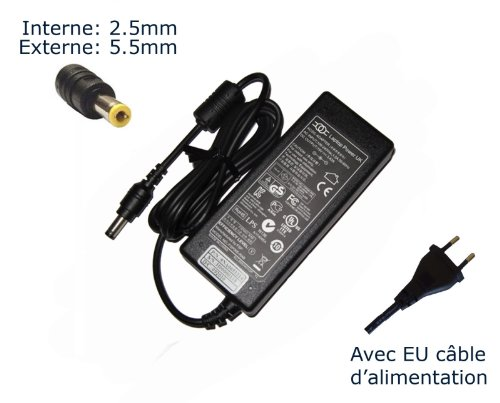 AC Adaptateur secteur pourToshiba Satellite U840W10N U840WC9S U920T109 U920T10G Z930103chargeur ordinateur portable, adaptateur, alimentation 