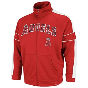 MLB Los Angeles Angels Home Field Advantage Jacket, Red White White by Majestic