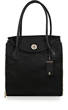 Embossed Pony Tote