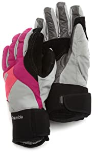 Columbia Women's Diamond Dash II Glove, Raspberry, Small