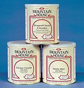 Mountain House 30431 Uncooked Egg Mix, Butter Flavor... #10 Can