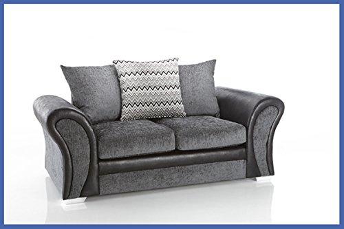 Starlet 3 + 2 Seater Sofa Set - Grey