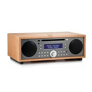 Tivoli Audio Music System+ BT (DAB+ / Bluetooth) kirsche/taupe