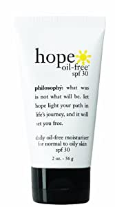 Philosophy Hope Oil-Free Moisturizer, SPF 30, 2 Ounce