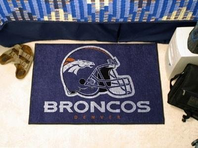 Denver Broncos Door Mat Rug Doormat at Amazon.com