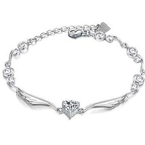 Crystal Zircon Guardian Angel Wings Bracelets(2)
