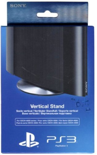 Official Sony Playstation 3 Vertical Stand for Super Slim PS3 Consoles (For Cech-4000 Series)