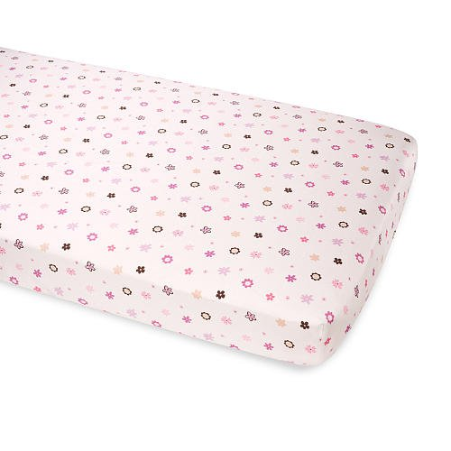 Summer Infant Breathe Easy Baby Crib Sheet - Floral - 1